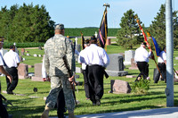 Q125 Flag Dedication Ceremony - Cemetery Walk