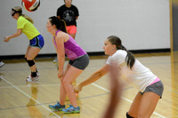 Wolfpack Volleyball practice Elgin Review 2015_3826