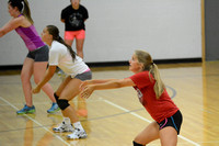 Wolfpack Volleyball practice Elgin Review 2015_3830
