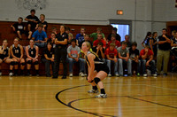 Wolfpack VB vs Cedar Valley 2013